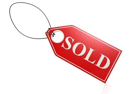 shopsign: Sold label