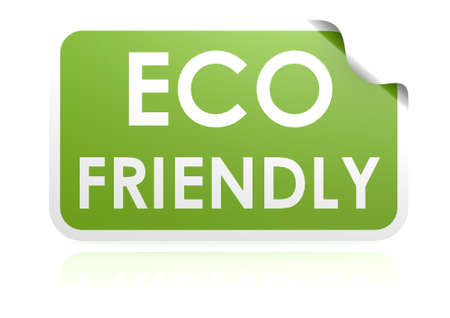 Eco friendly sticker photo