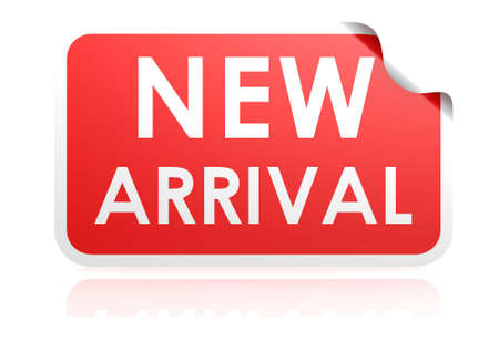 new arrival: New arrival sticker
