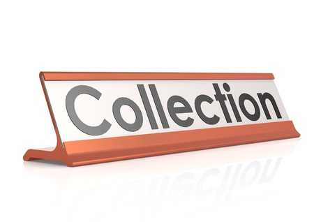 Collection table tag photo