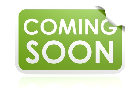 coming: Coming soon sticker
