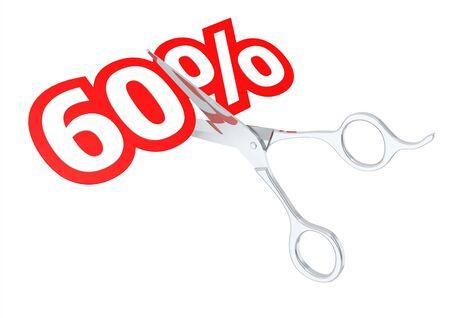 sacrificed: Cut 60 percent