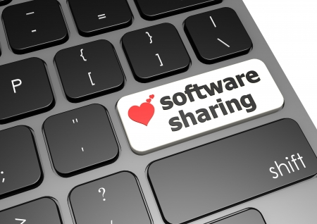 Software sharing photo