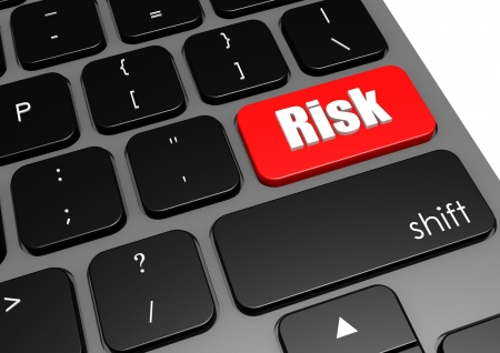 Risk with black keyboard photo