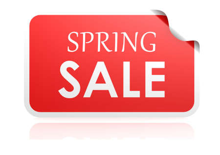 ollection: Spring sale sticker