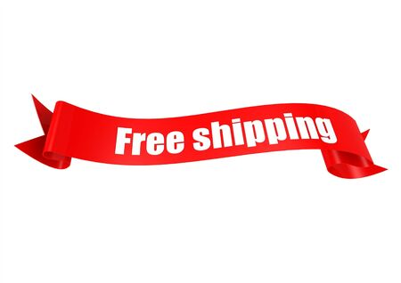 Free shipping ribbon photo