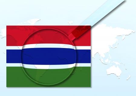 gambia: Gambia Stock Photo