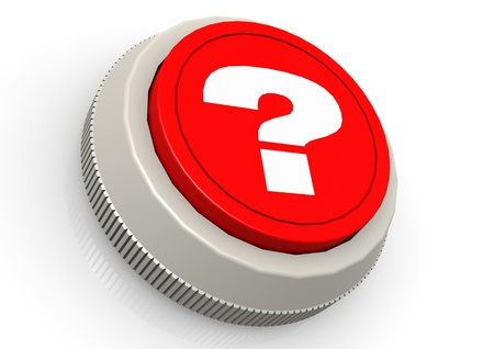 Question mark button photo