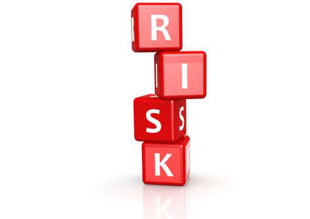 overturn: Risk buzzword Stock Photo