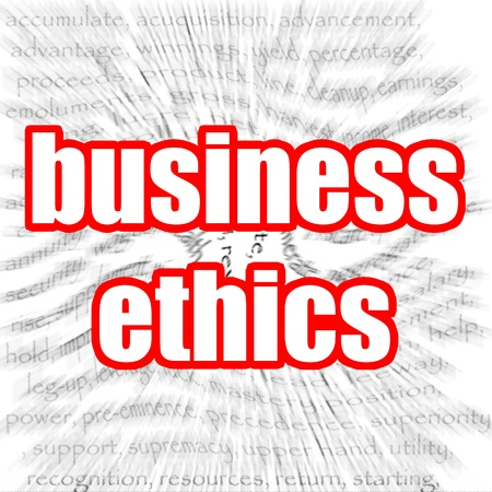 business ethics: Business ethics