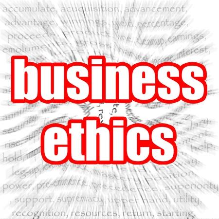 valores morales: ?tica empresarial