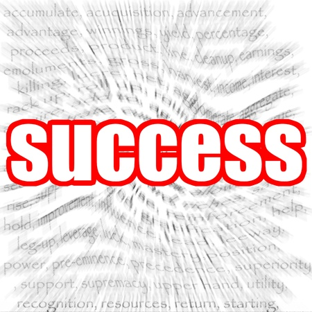 Success zoom in Stock Photo - 19792002
