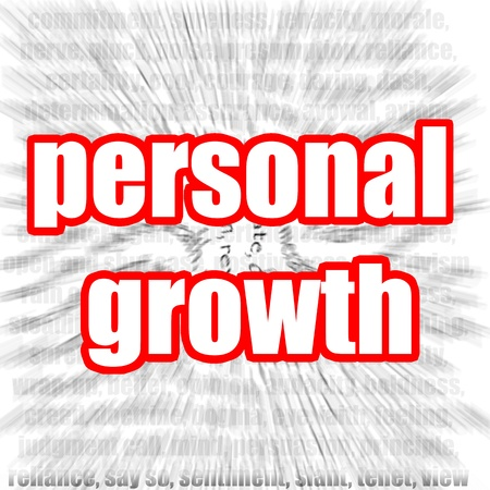 personal growth: Personal Growth Stock Photo