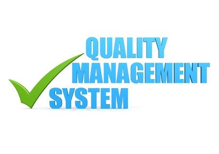 control de calidad: Sistema de gesti�n de la calidad Foto de archivo