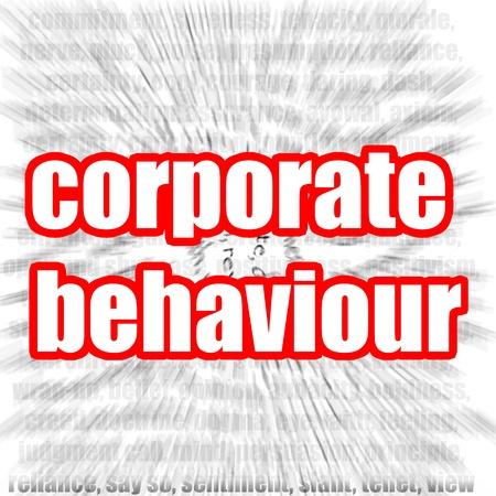 Corporate behaviour Stock Photo - 20009262