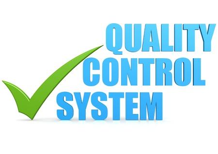 control de calidad: Sistema de control de calidad