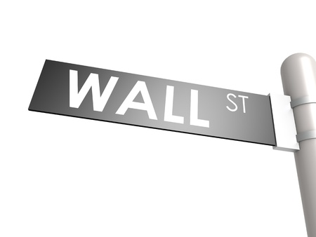 nasdaq: Wall street sign