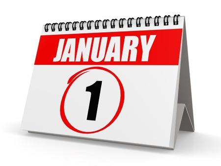 january 1: January 1 calendar
