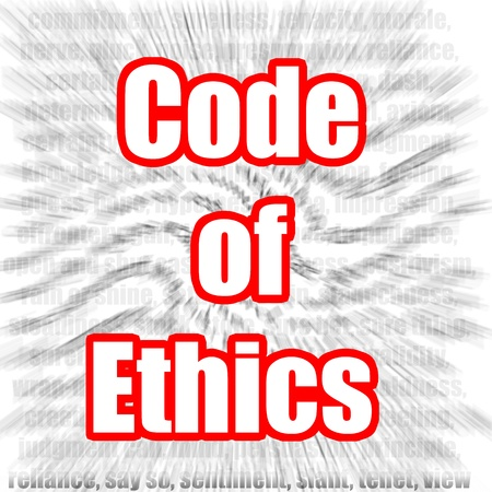 Code of Ethics Stock Photo - 20137979