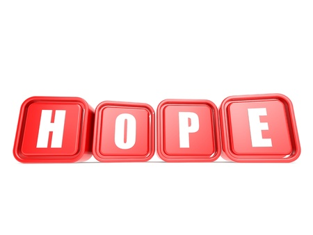 determined: Hope cube