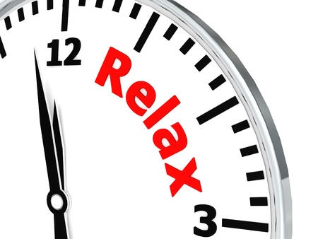 Relax clock Stock Photo - 20226142