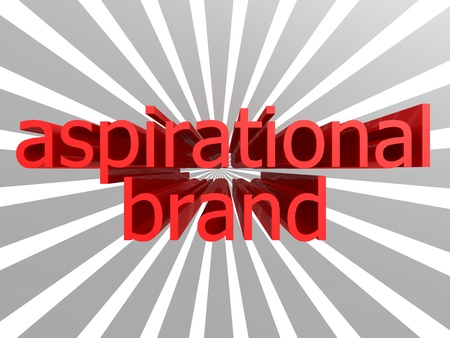 aspirational: Aspirational brand words