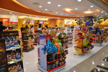 Toy store in Changi airport, Singapore Editorial