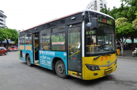 Public bus in China