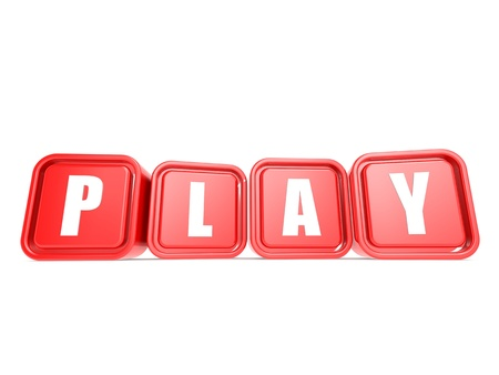 Play word on cubes photo