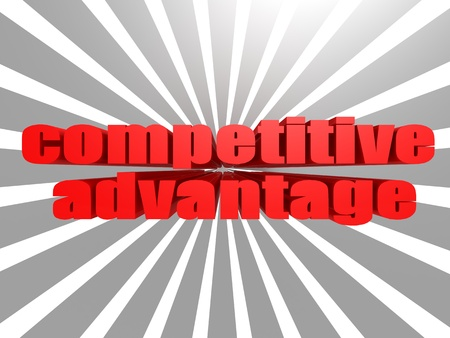 Competitive Advantage Stock Photo - 20554927