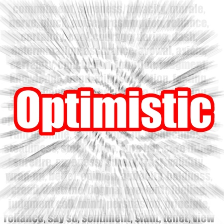 optimistic: Optimistic Stock Photo