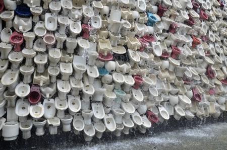 Wall of toilet bowl Stock Photo - 20555010