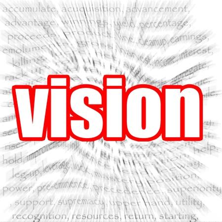 zoom in: Vision zoom in cloud