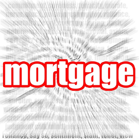 variable rate: Mortgage Stock Photo