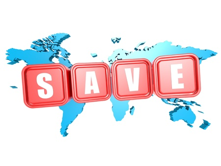 Save world Stock Photo - 20555079