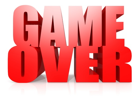 kindy: Game over word