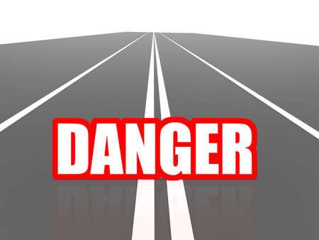 closure: Road danger