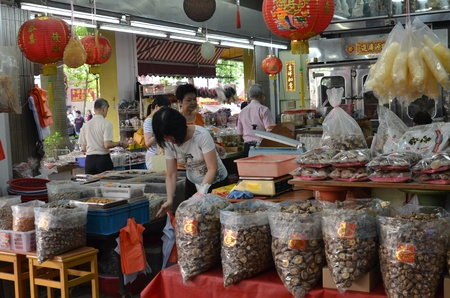 Traditional grocery shop in Singapore