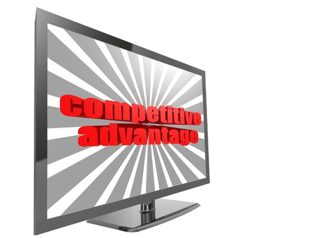 lower value: TV with competitive advantage