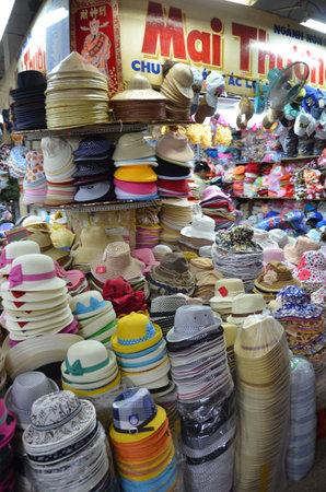Hat shop in Vietnam Market