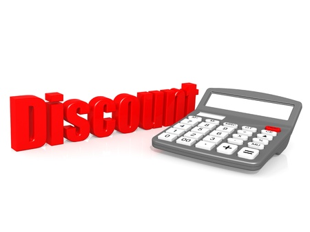 mortgaging: Discount with calculator