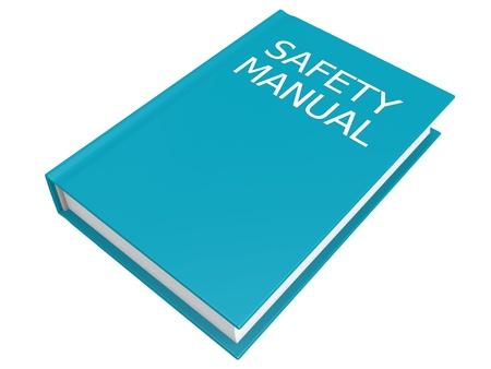 Safety manual book photo