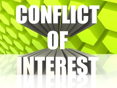 valores morales: Conflicto de Intereses