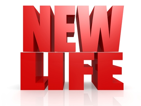 New life word photo