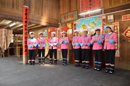 Performance of Chinese minority