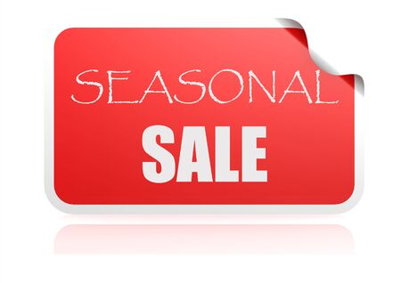 ollection: Seasonal sale red sticker