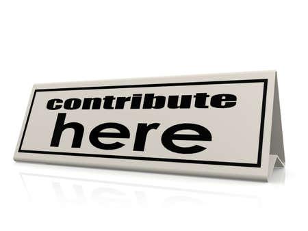 contribuire: Contribute qui
