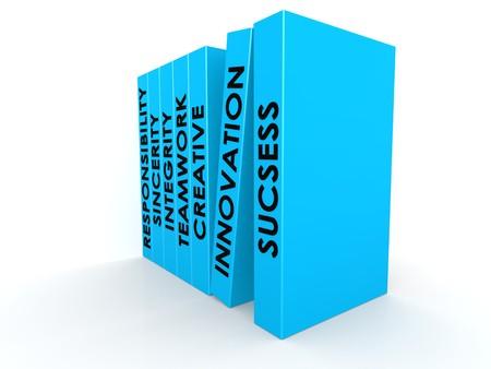 Blue books photo