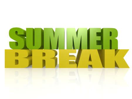 summer break: Summer break