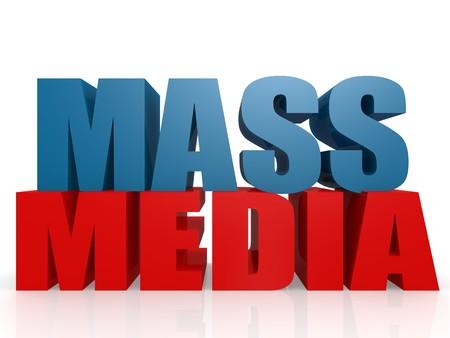 Mass media photo